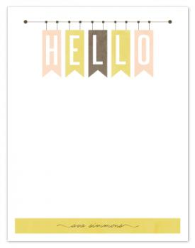 Hello banners