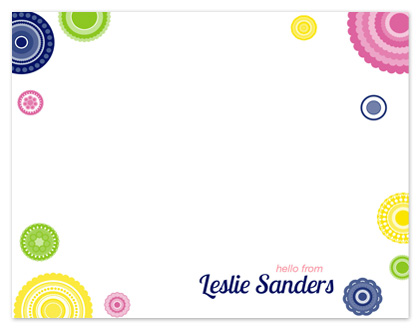 personal stationery - A Happy Hello by Simply Shira