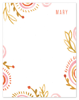 personal stationery - Miss Mary by Moglea