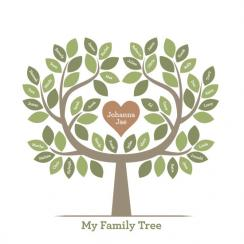 Family Tree of Love Art Prints