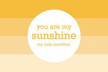 my only ombre sunshine Art Prints