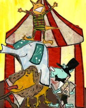 Big Top Circus Art Prints