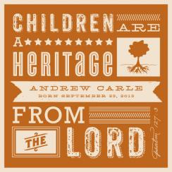 Heritage Children Art Prints