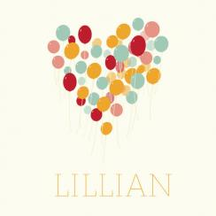 lovely balloons Art Prints