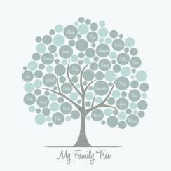 Roly-Poly Family Tree Art Prints