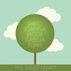 Modish Family Tree Art Prints