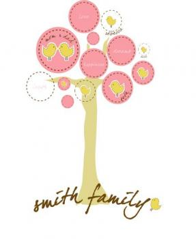 family chiks tree Art Prints