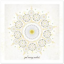 Monogrammed Sunshine Art Prints