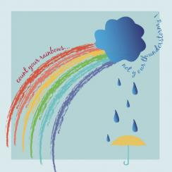 Rainbows not thunderstorms Art Prints