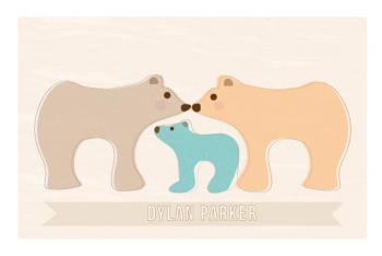 Bear Family Art Prints