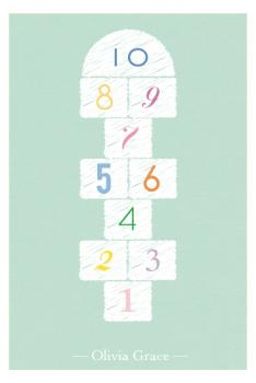 Hopscotch 123 Art Prints