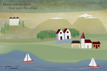 Little Village Art Prints
