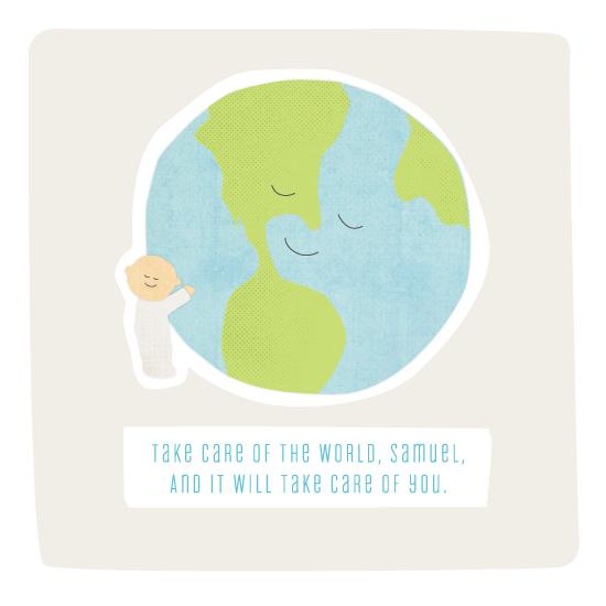 art prints - One world by Jennifer Wick
