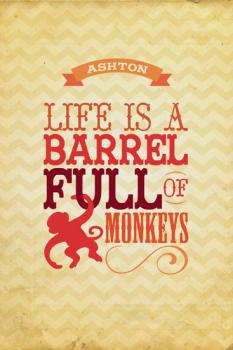 Barrel of Monkeys Art Prints