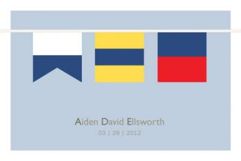 Nautical flags Art Prints