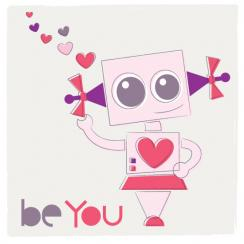 Be You Bot Art Prints
