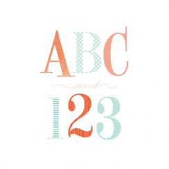 ABC123 Art Prints