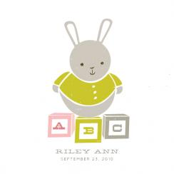 ABC Bunny Art Prints