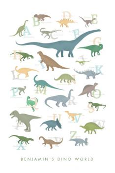 Dino world Art Prints