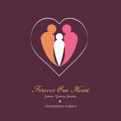 Forever One Heart Art Prints