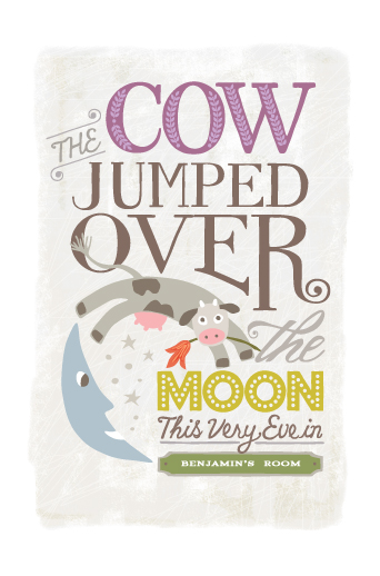 art prints - Over the Moon by Griffinbell Paper Co.