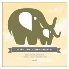 Elephant Mother and Baby Art Prints