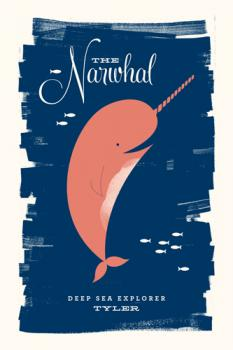 Neighborly Narwhal Art Prints