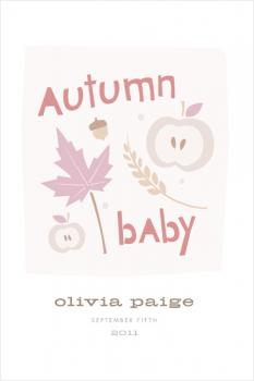 autumn baby Art Prints