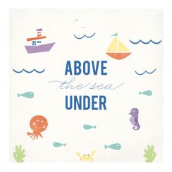 I love the sea Art Prints
