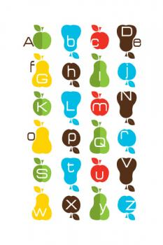 Why Not Alphabet Art Prints
