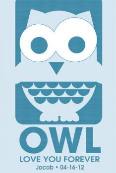 Owl love you Art Prints