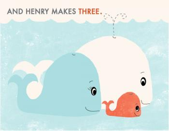 New Baby Whale Art Prints