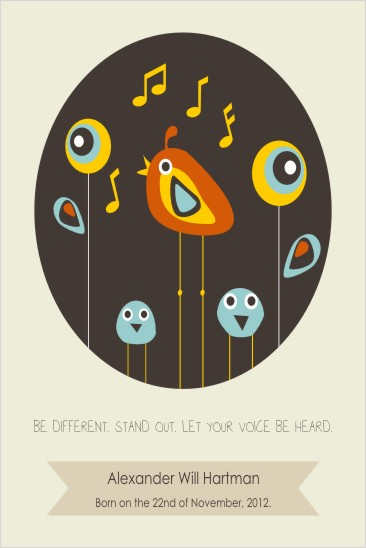 art prints - Be Different by Oma N. Ramkhelawan