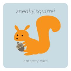 Sneaky Squirrel Art Prints