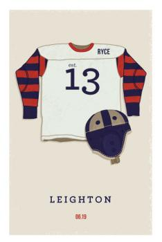 American Football Art Prints