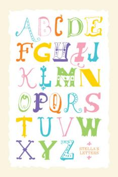 Learn Your Letters Art Prints