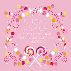 Sugar & Spice Art Prints