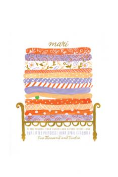 Little Princess & the Pea Art Prints