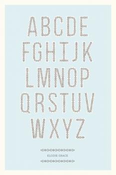 Antique Alphabet Art Prints