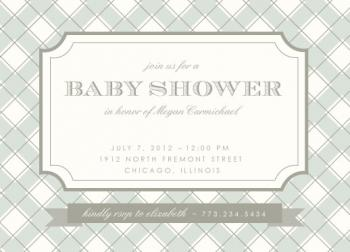 Cape Cod Baby Shower Invitations