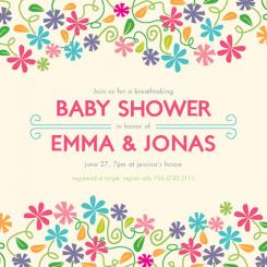 Breathtaking Event Baby Shower Invitations