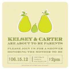 New Parents Baby Shower Invitations