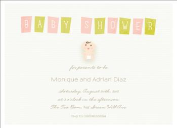 Oh so lovely Baby Shower Invitations