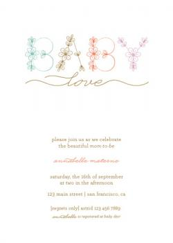 delicat Baby Shower Invitations