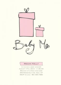 Baby Me Baby Shower Invitations