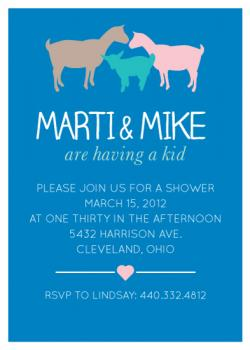 They're Having a Kid! Baby Shower Invitations