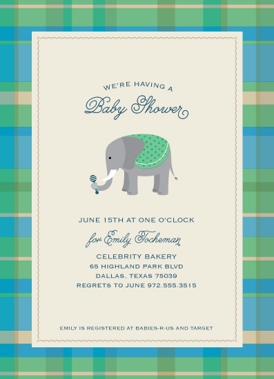 baby shower invitations prepster by ann gardner
