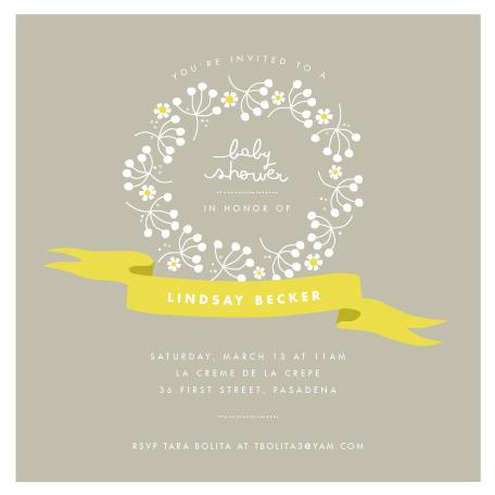 baby shower invitations full of joy at