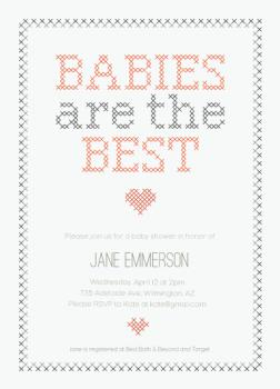The Best Baby Shower Invitations