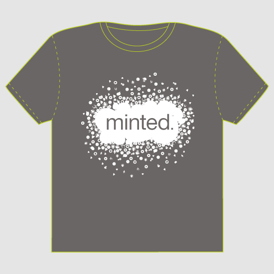 minted t-shirt design - Minted_is_more_then_design by Tereza Šašinková Lukášová